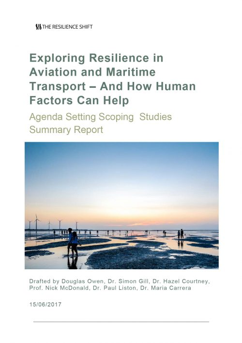 Exploring Resilience in Aviation and Maritime Transport