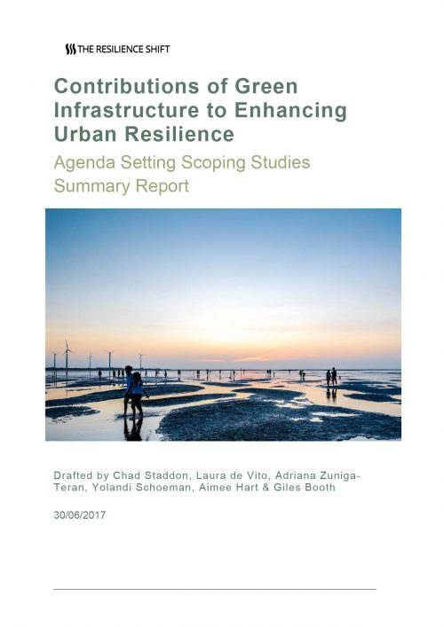 Contributions of Green Infrastructure to Enhancing Urban