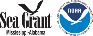 Mississippi-Alabama Sea Grant Consortium and NOAA's Coastal Storms Program logo