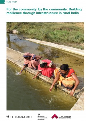 For the community, by the community: Building resilience through infrastructure in rural India