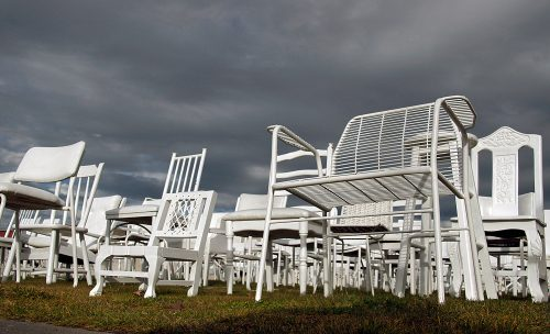 185 empty white chairs: remembering Christchurch earthquake
