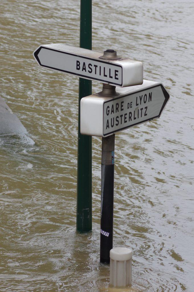 Flooding in Paris 2016