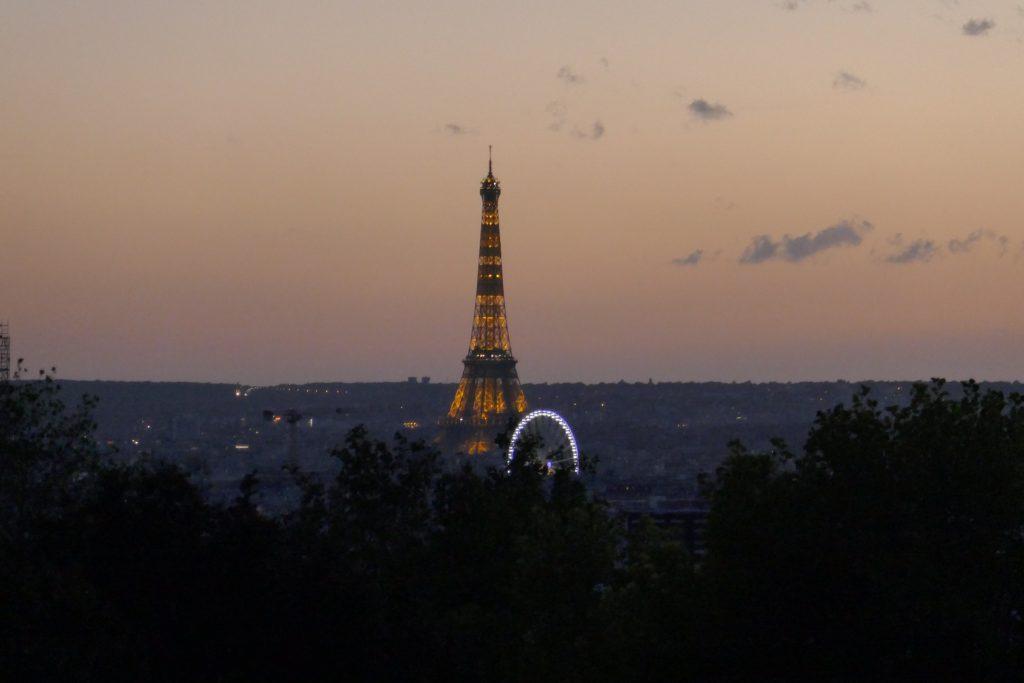 Paris heatwave 2019