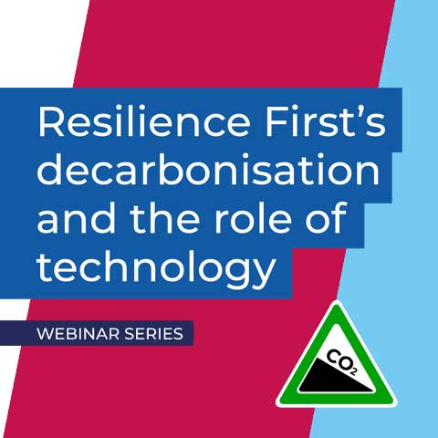 Resilience First-decarbonisation webinars logo